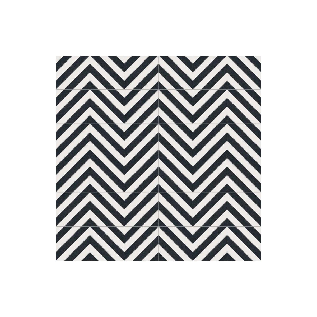 Goroka Grafito (m2) - Pavimento hidráulico Porcelánico para interior y exterior Vives Serie Maori