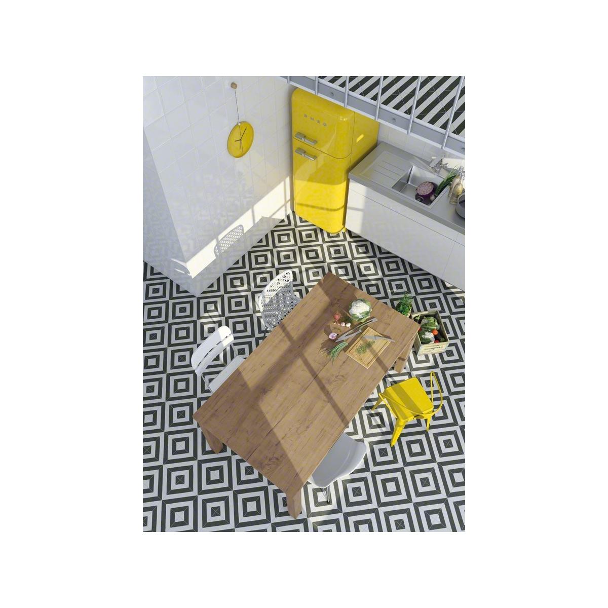 Serie Maori Vives Goroka Grafito (m2) - Pavimento hidráulico Porcelánico para interior y exterior al mejor precio