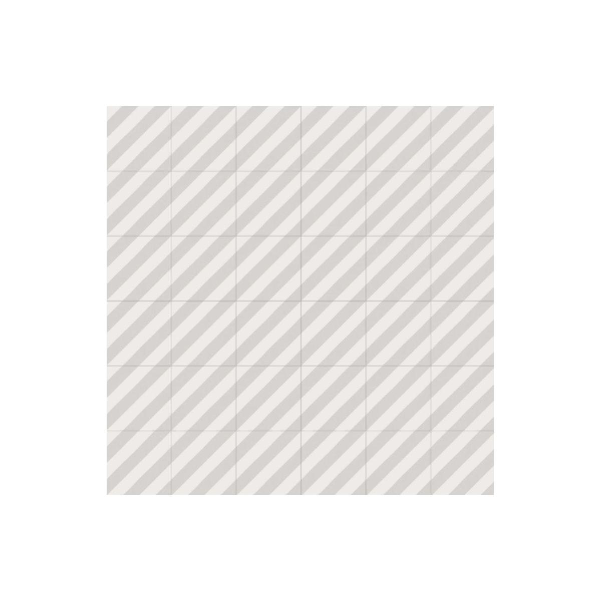Goroka Gris (m2) - Pavimento hidráulico Porcelánico antideslizante - Serie Maori