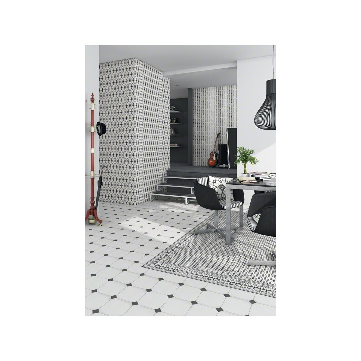 Paix Sombra 20x20 (m2) - Losas hidráulicas Porcelánico para interior y exterior Vives