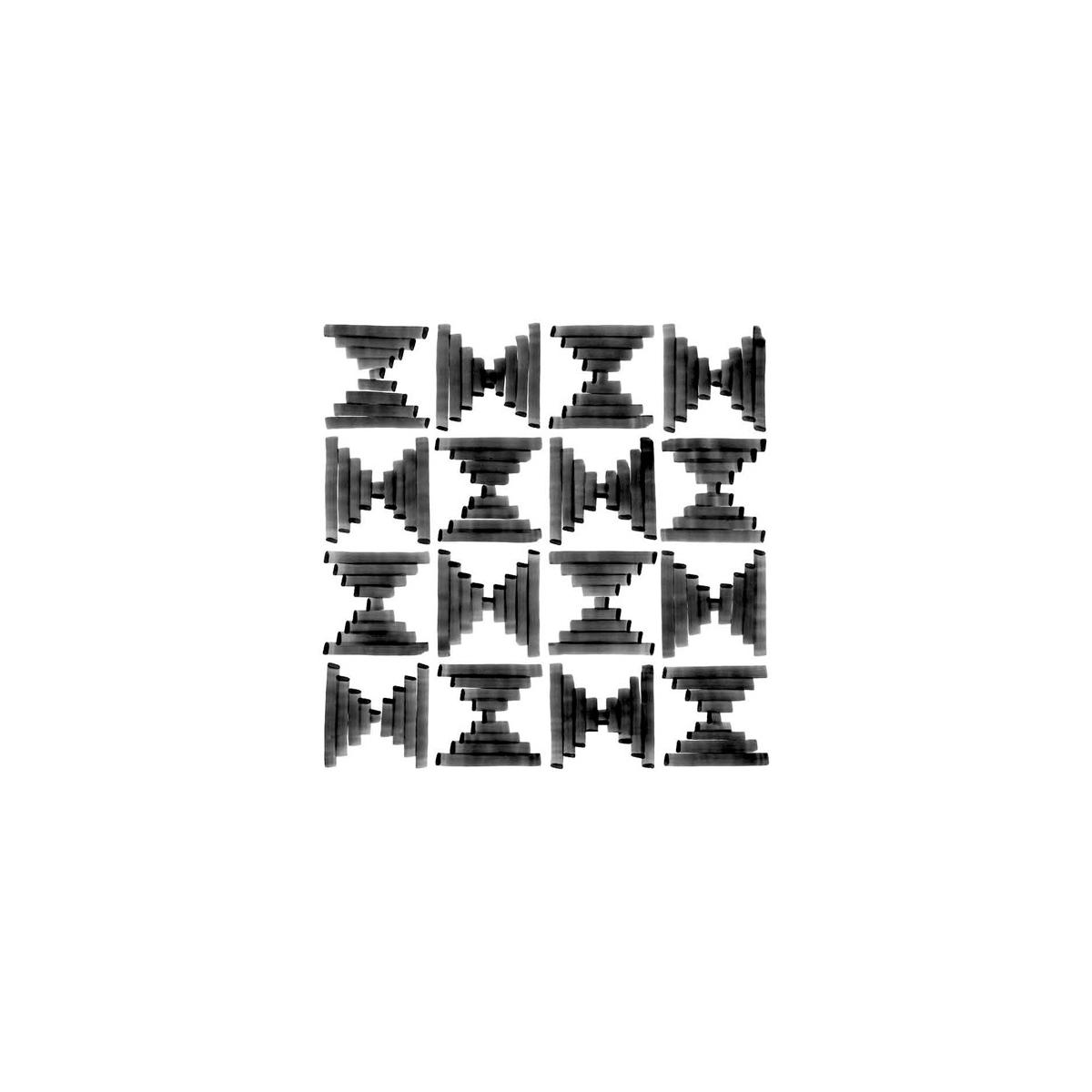 Wilder Sombra 20x20 - Pavimento hidráulico Porcelánico para interior y exterior