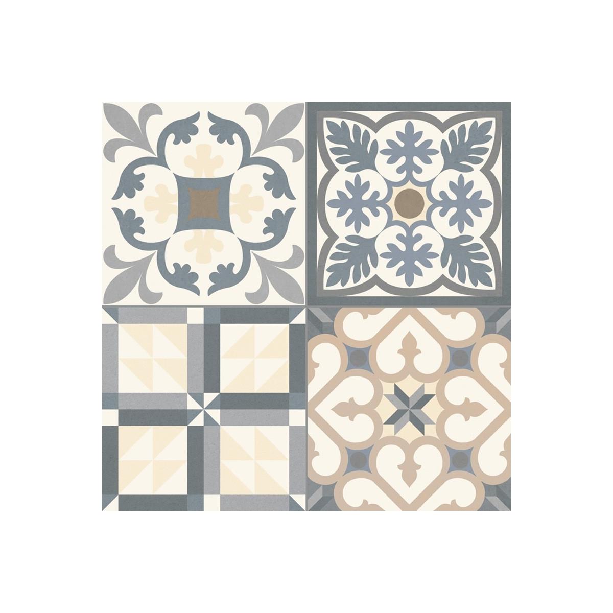 Heritage Grey - Pavimento porcelánico hidráulico a precios económicos