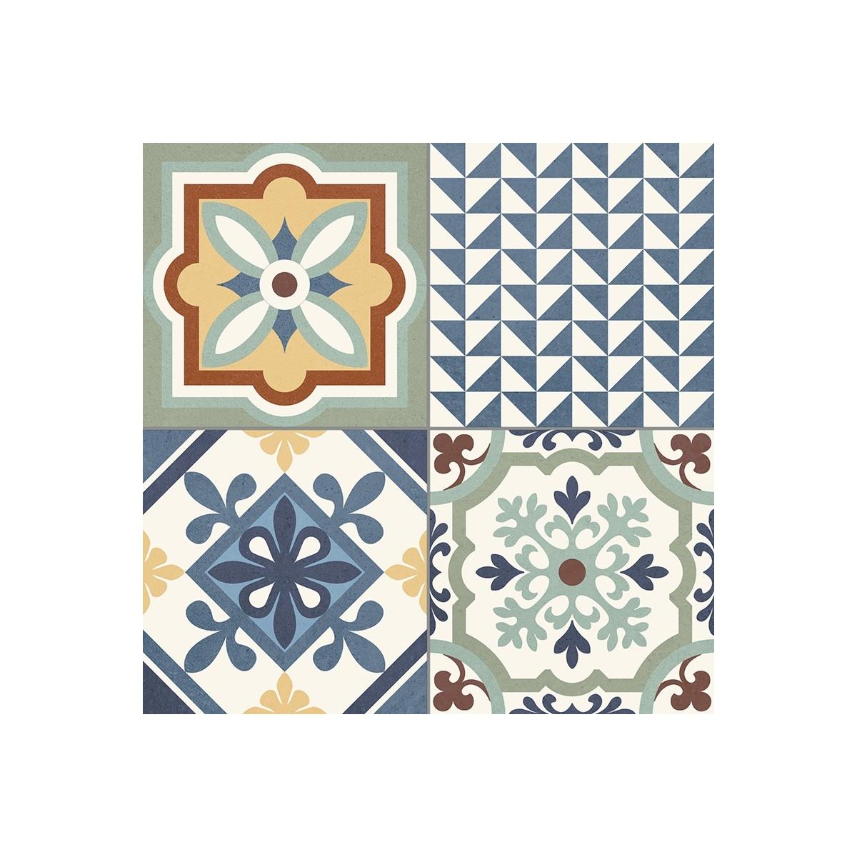 Heritage Mix (Caja de 1,32 m2) Pavimento porcelánico imitación hidráulico
