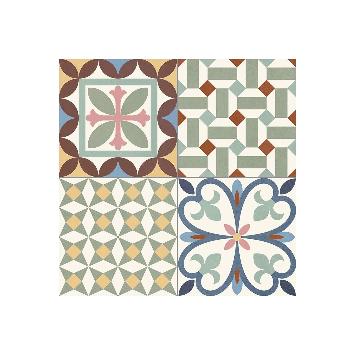 Heritage Mix (Caja de 1,32 m2) Pavimento porcelánico imitación hidráulico Gaya Fores S.L.