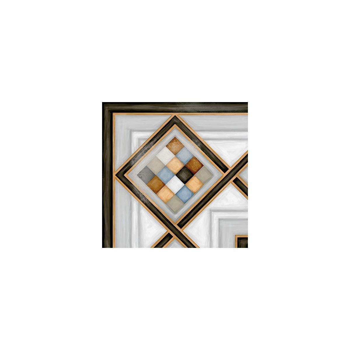 Pombo 3 Multicolor 20x20 - Pavimento hidráulico Porcelánico interior y exterior