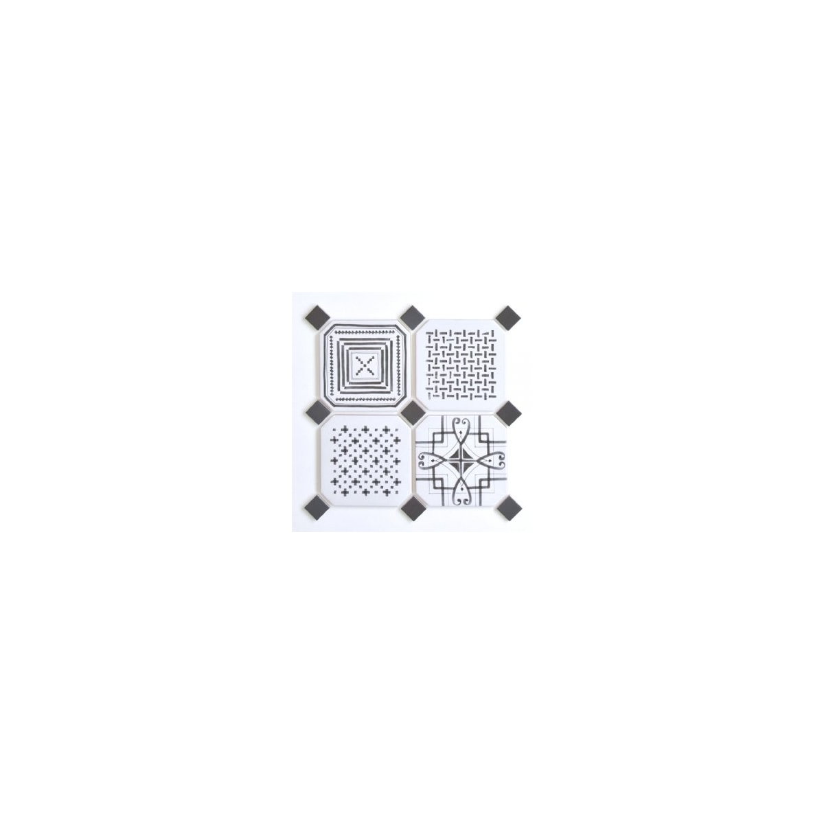Vives Taco Dome Antracita (ud) 4x4