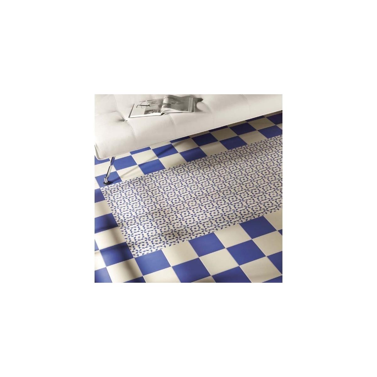 Victorian Azul Liso 20x20 (m2) Mainzu