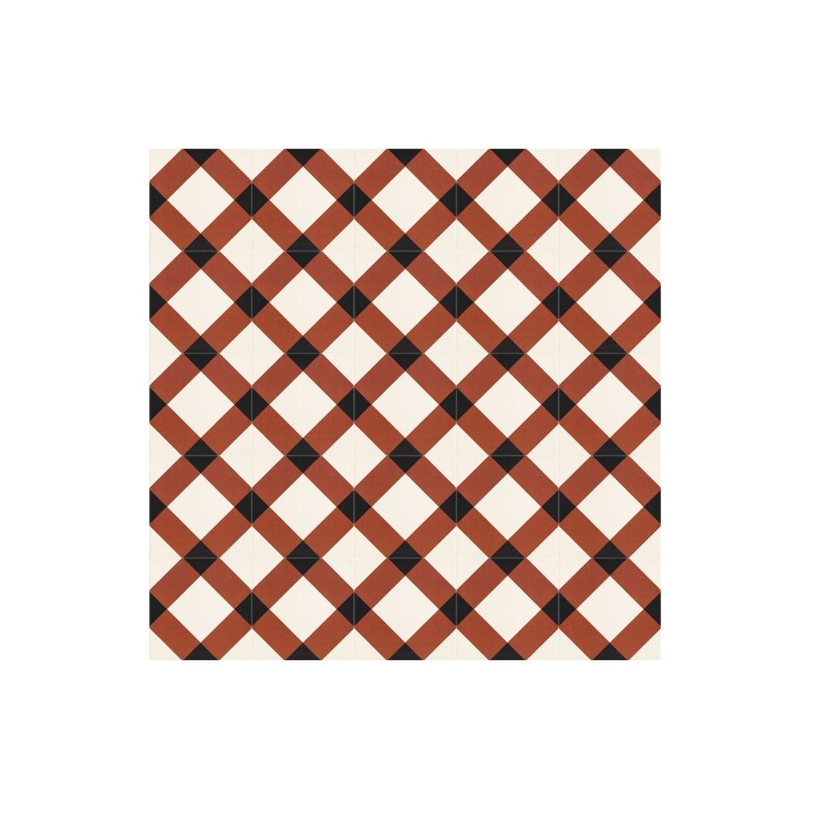 Loira Rojo 20x20 (caja 1 m2) Mainzu