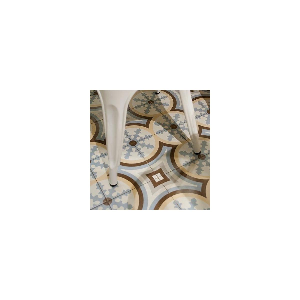Beltri Celeste 20x20 (m2) Florentina celeste