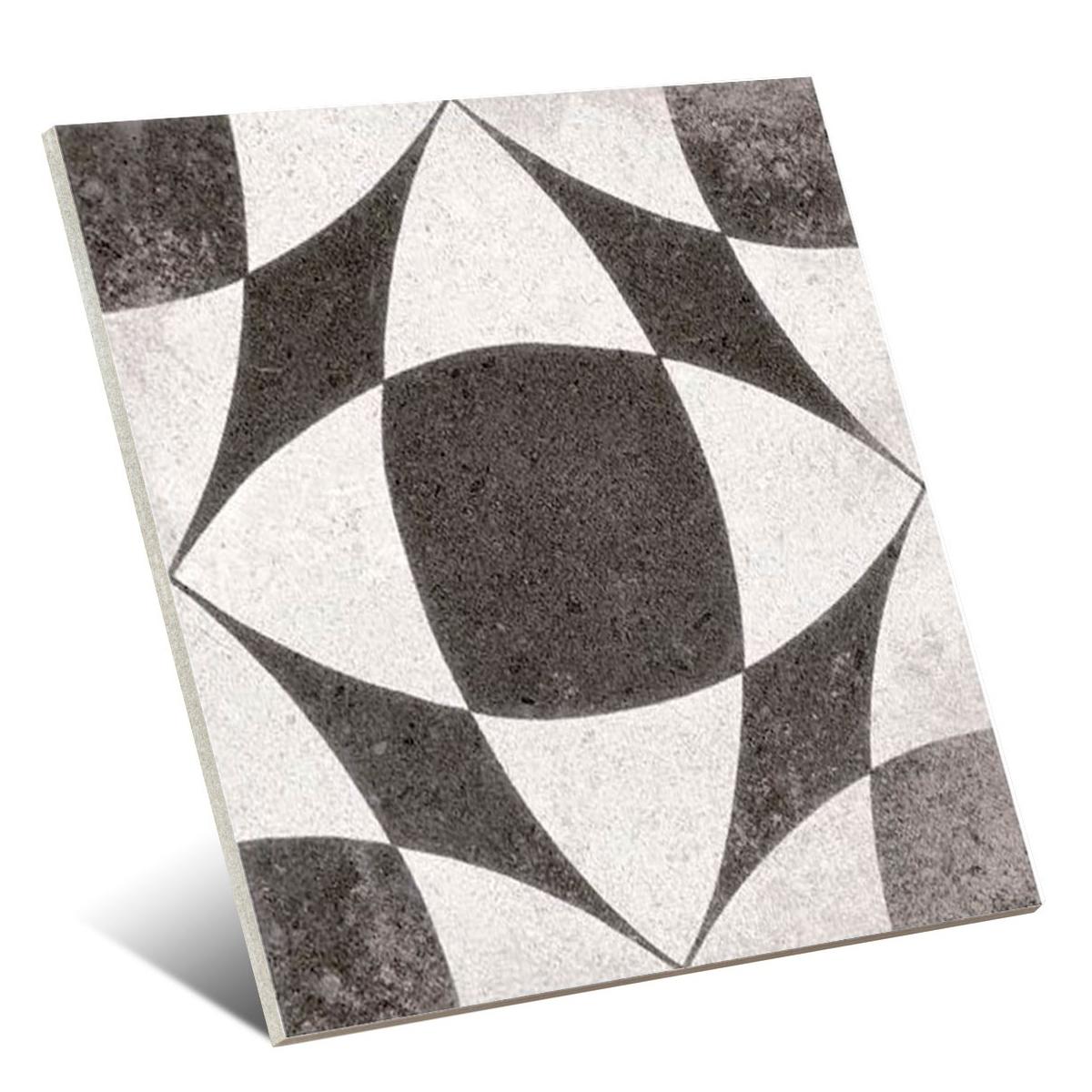 Berkane Negro 20x20 (m2) - Colección Nassau de Vives - Marca Vives