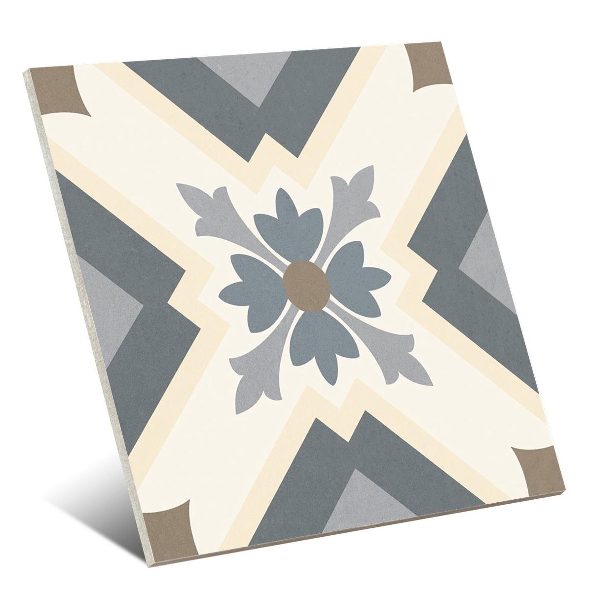Taco Heritage Grey 16,5x16,5 (Caja de 0,55 m2) - Colección Heritage de Gaya Fores - Marca Gaya Fores S.L.