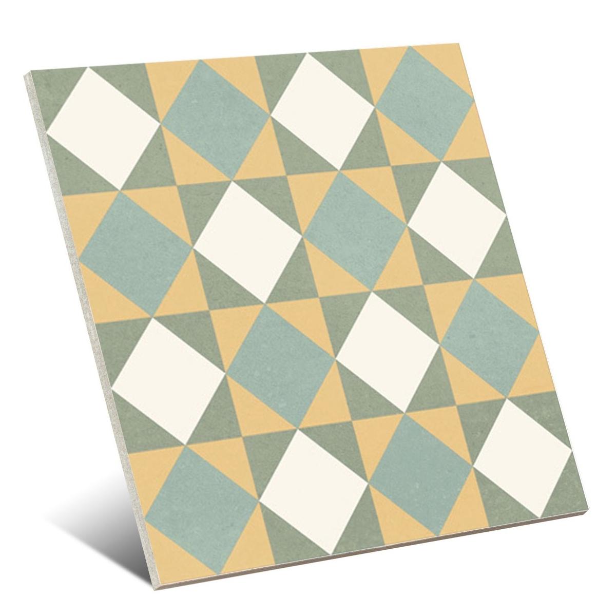 Taco Heritage Mix 16,5x16,5 (Caja 0,55 m2) - Colección Heritage de Gaya Fores - Marca Gaya Fores S.L.