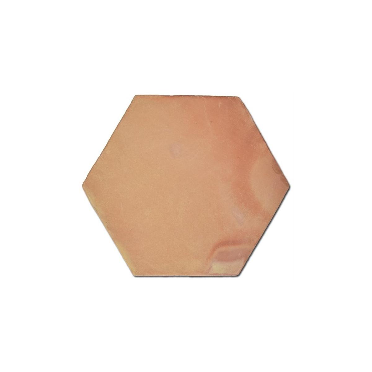Baldosa Hexagonal de barro