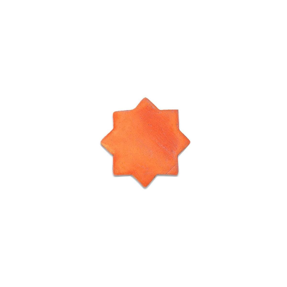 Estrellas de barro - Pavimento con Barro Terracota - Marca Anticfang