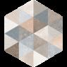 Fingal Hexagonal (caja 0.5 m2)