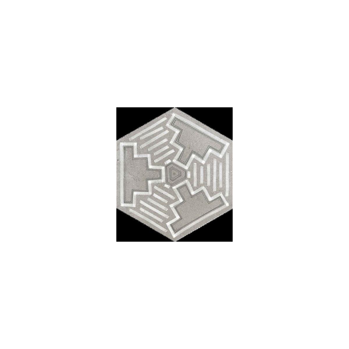 Igneus Cemento Hexagonal (caja 0.5 m2)