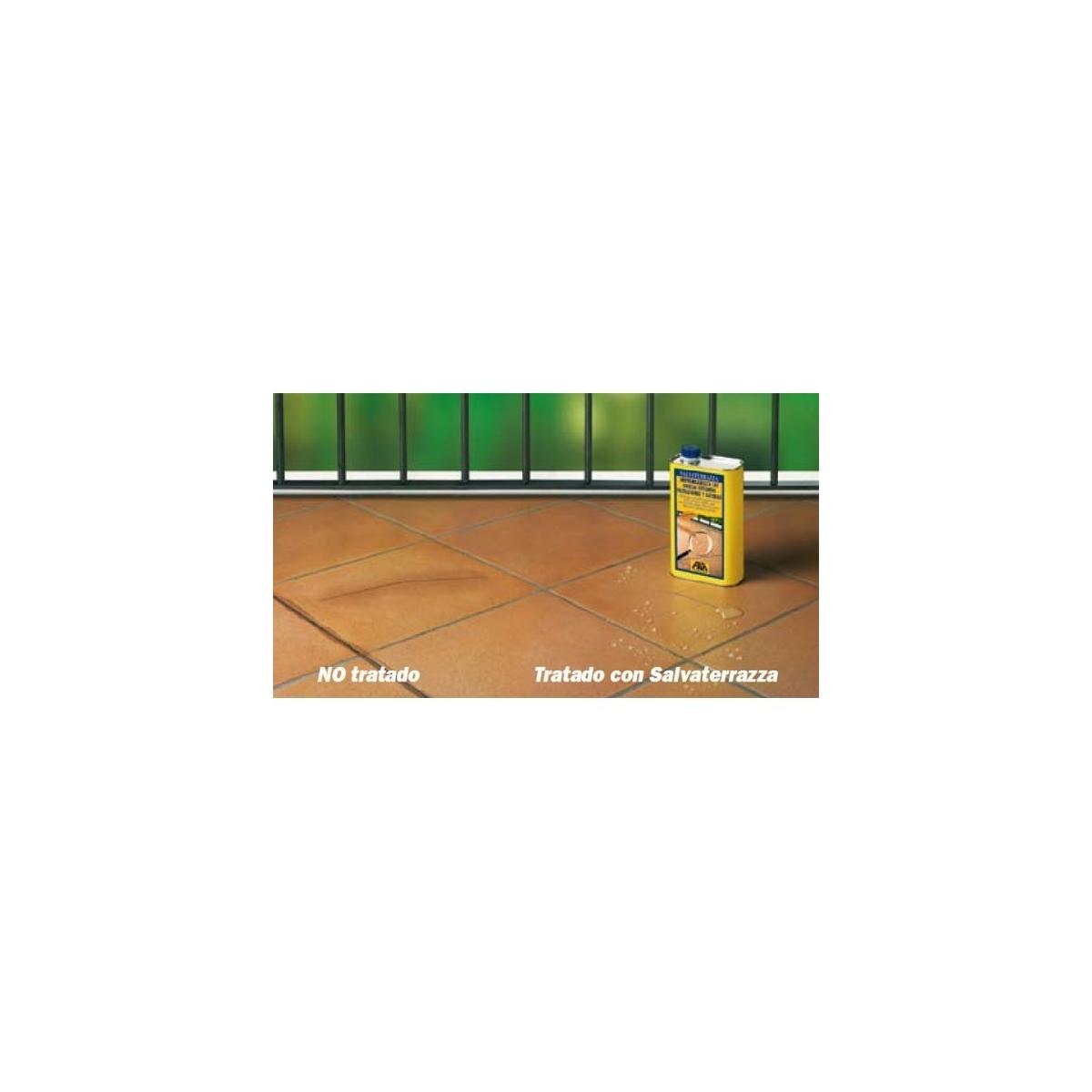 Salvaterrazza - Impermeabilizante - Protección de pavimentos y revestimientos - Marca Fila