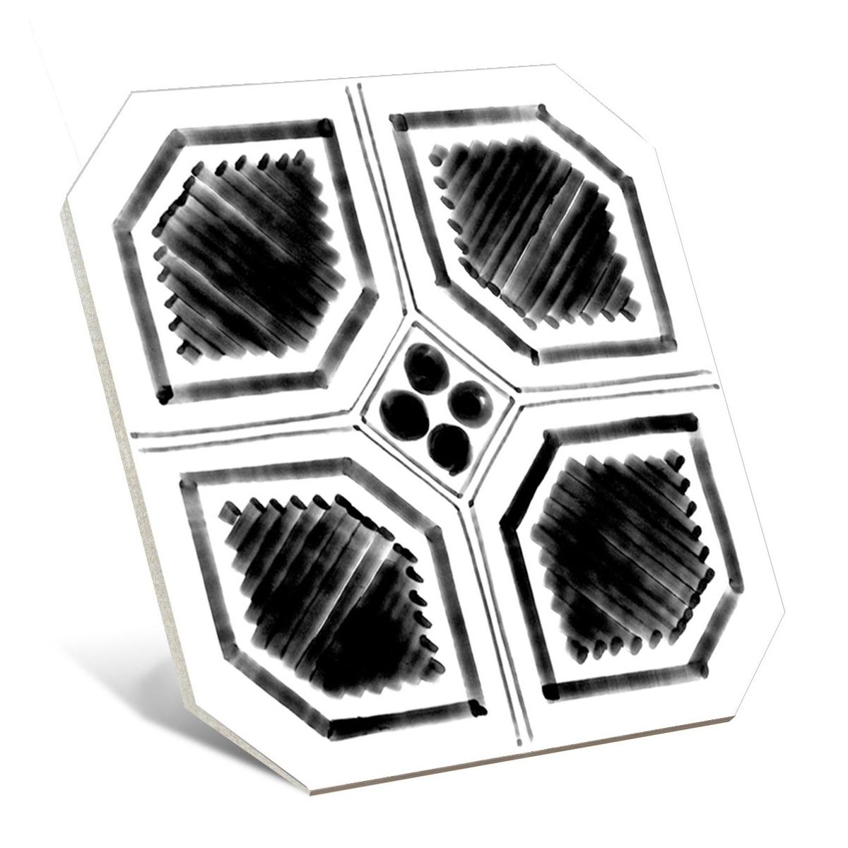 Octógono Variette Sombra 20x20