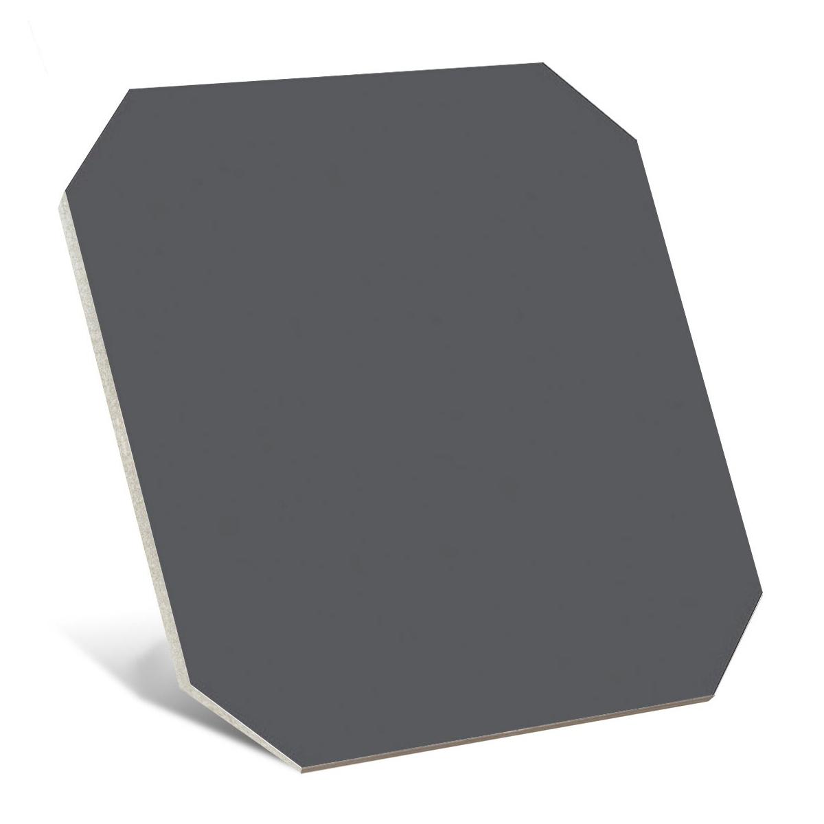 Octógono Carabet Antracita 20x20