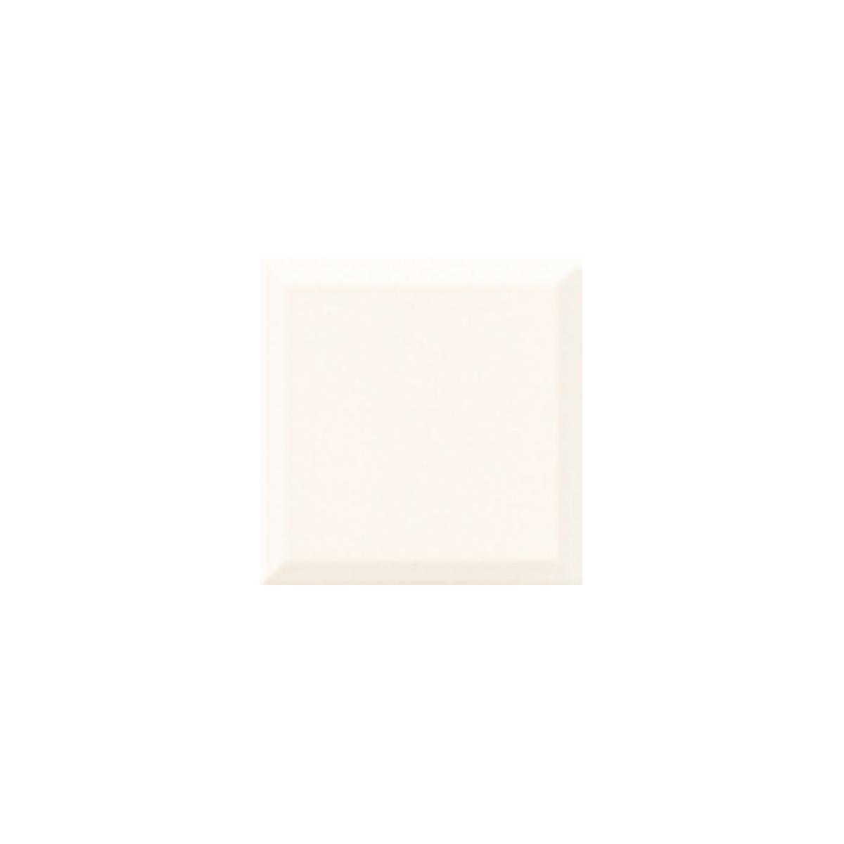 Blanco biselado brillo 20x20