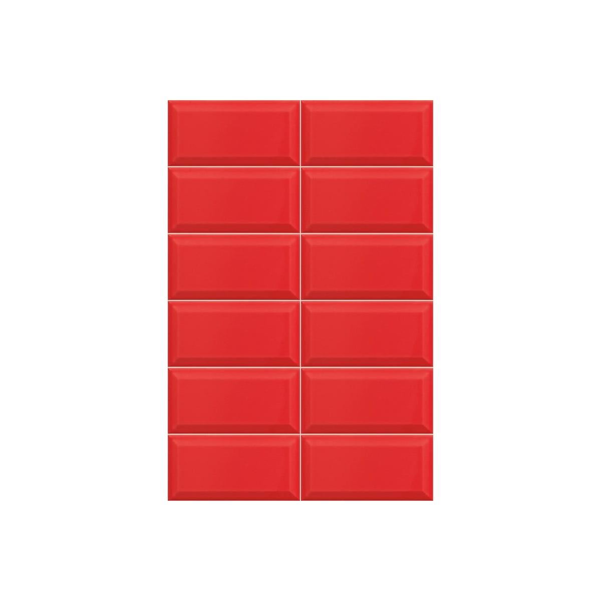Bissel Rojo brillo 10x20 (m2)