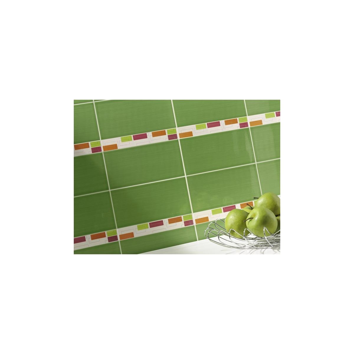 Glam Pistacho (Caja 1 m2) - Suelo cerámico Interior Pasta roja Efecto Antiguo