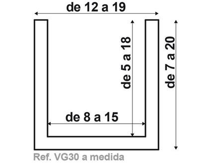 Viga VG30 de fabricación a medida