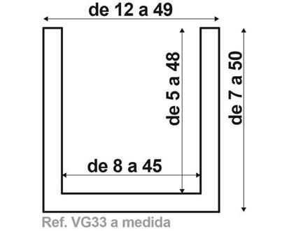 Viga VG33 de fabricación a medida