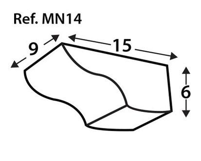 Ménsula imitación a madera MN14