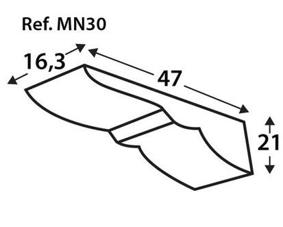 Ménsula imitación a madera MN30
