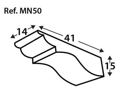 Ménsula imitación a medida MN50