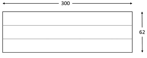 Panel imitación madera PN24 con tres lamas