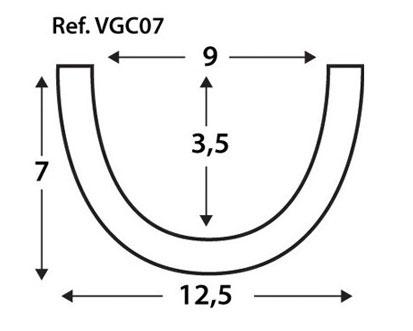Viga curva VGC07