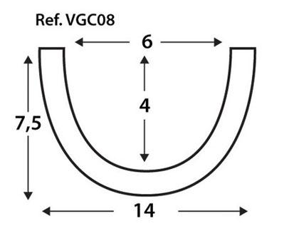 Viga Curva VGC08