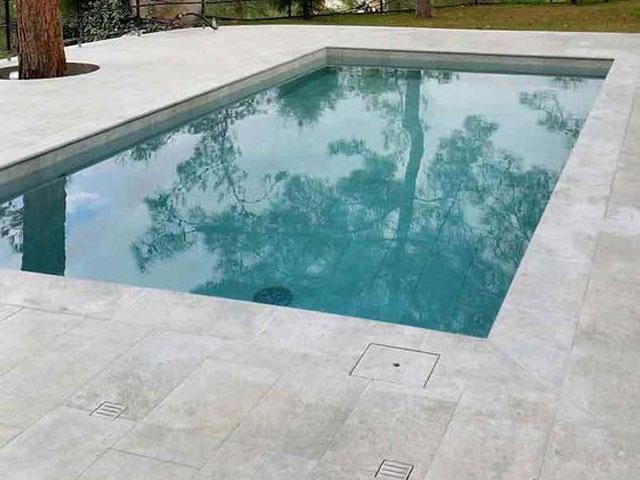 Coronación de piscina Mistery Grey