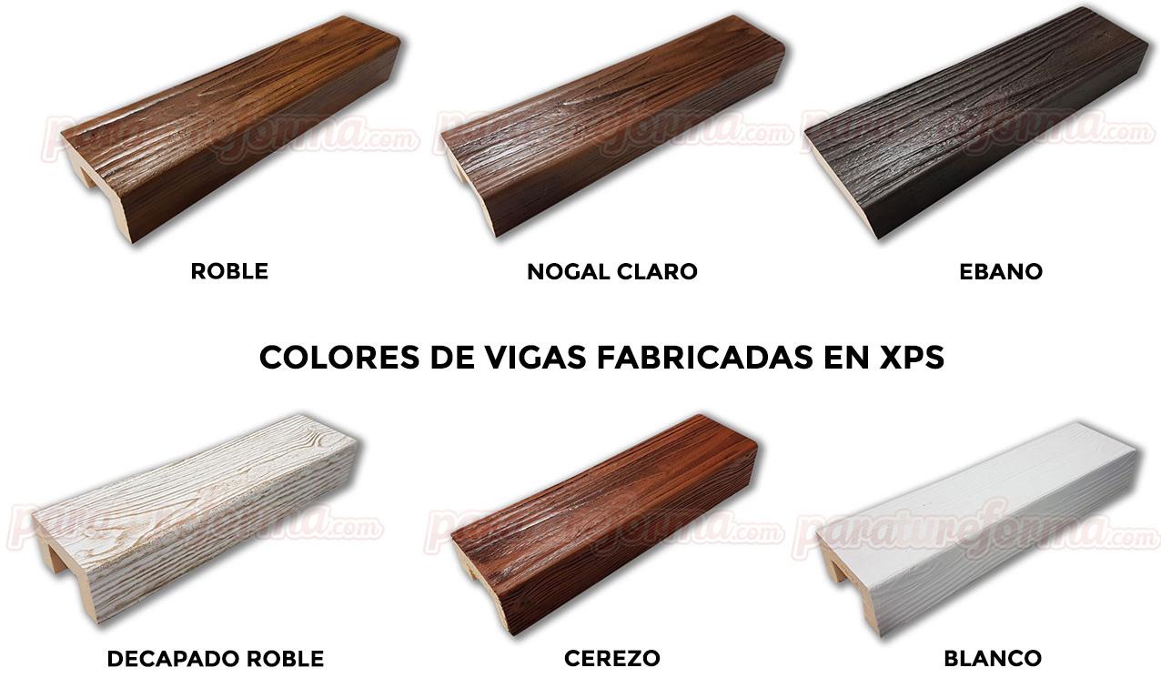 Revestimiento vigas imitacion madera for Imitacion de madera